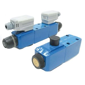 Vickers DG4S4 Series Solenoid Operated 4 Way Hydraulic Valve, 3000 psi Maximum Pressure, Open Spring Offset Spool Type, 24VDC, 24 gpm Flow Rate by Vickers