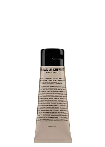 Grown Alchemist Deep Cleansing Facial Masque - Wheatgerm, Ginkgo & Cranberry (75ml / ()