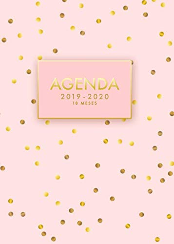 Amazon.com: Agenda 2019/2020 | 18 meses: Agenda Semanal ...