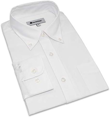 竹繊維 長袖 ワイシャツ 抗菌防臭 透気速乾 形態安定 ノーアイロン お手入れ簡単 メンズ ビジネス 襟付き 通勤 コスパ抜群