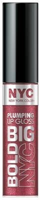 New York Color Big Bold Plumping Lip Gloss - Plumped Plum (Pack of 2)