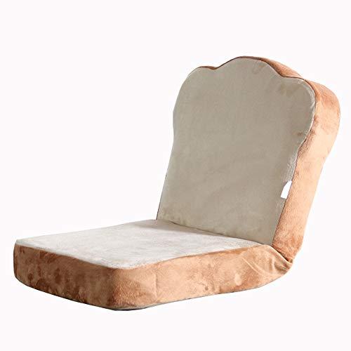 LJFYXZ Sillón Reclinable Sofá pequeño Plegable Individual Ajuste de 6 velocidades Fácil de Quitar y Lavar Dormitorio Sala de Estar Lindo Mini amortigu