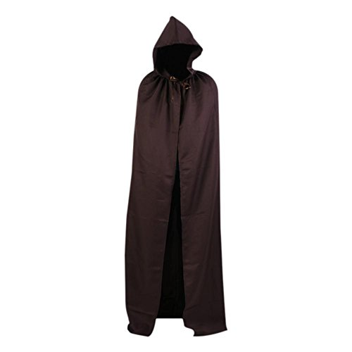 Wine Costumes Ideas (Smartcoco Halloween Cosplay Hooded Sleeveless Cloak Adult Halloween Party Costumes Capes(S-XXL))