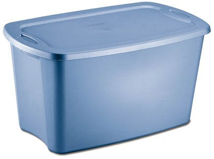 NEW Sterilite 18351006 Lidded 30 Gallon Storage Tote Box Single Bin Container (30 Gallon Tote)