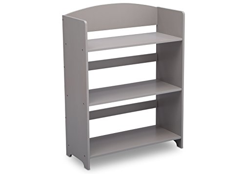 Delta Children MySize Bookshelf, Grey (Baby Bookcase)