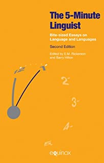 product image for The 5 Minute Linguist: Bite-Sized Essays on Language and Languages