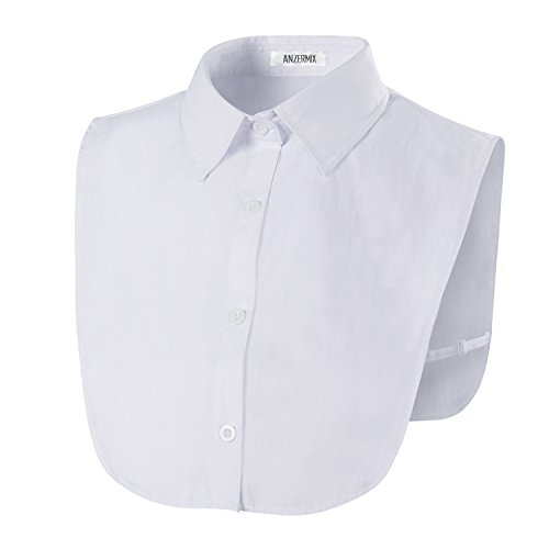 Anzermix PeterPan Fake Collar Detachable Dickey Blouse Half Shirts 3 Colors -
