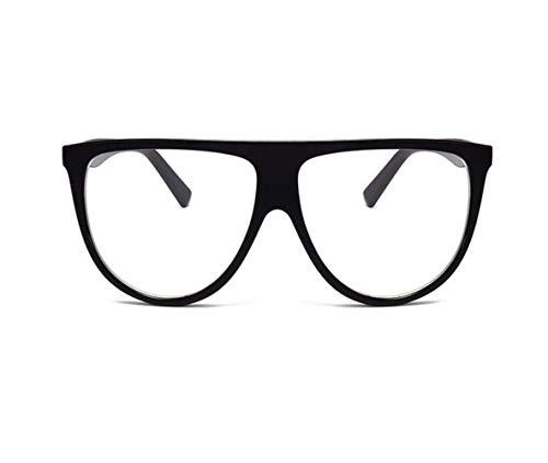 exterior FlowerKui protectoras Conducción de Gafas Mujeres Gafas UV400 sol Black Gran Hombres Marco para Diseño RgqRO