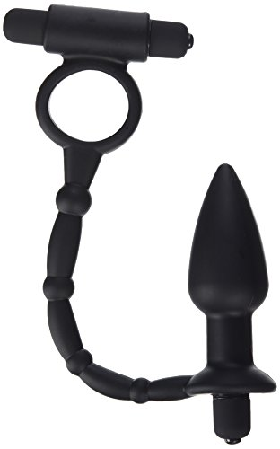 Master Series Viaticus Dual Cock Ring and Butt Plug Vibrator