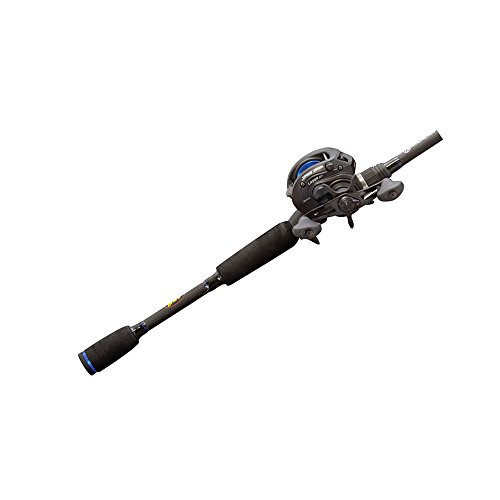- Lew's Fishing American Heroes Speed Spool Baitcast Rod and Reel Combo, 6' 6