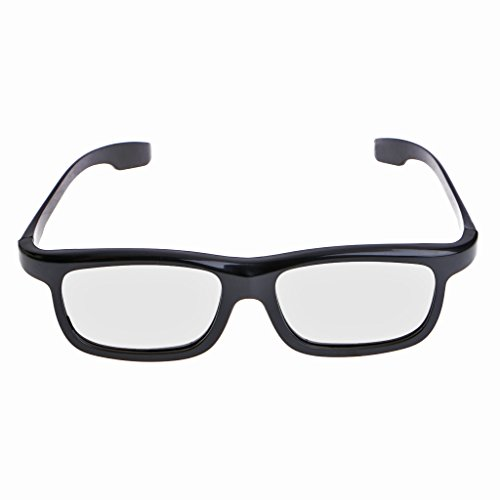 Baodanjiayou Polarized Passive 3D Glasses Black For TV Real D 3D Cinemas...