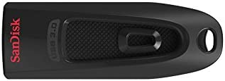 Memoria Flash USB 3.0 SanDisk Ultra de 256 GB, Velocidad de Lectura de hasta 100 MB/s