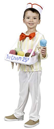 Princess Paradise Ice Cream Cone Salesman Costume, -