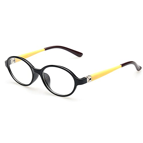 Fantia Ultra-light myopia frame Oval kids eyeglass Non-prescription lenses for boy and girl - Eyeglasses Oval