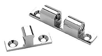 Seachoice 50-35981 Sujeta-Puertas Zinc Cromado, 44 mm x 8 mm