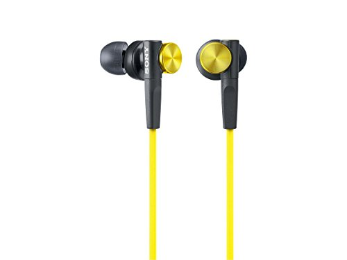 Sony Dynamic Headphones MDR XB50 Y Yellow product image