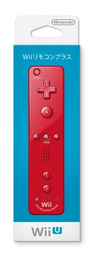 Wii Remote Plus (Red) -