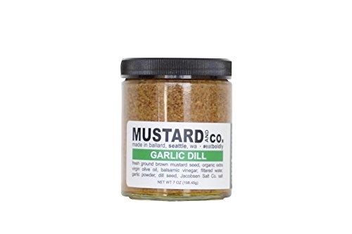 Mustard and Co. - Garlic Dill - 7oz - Garlic Mustard