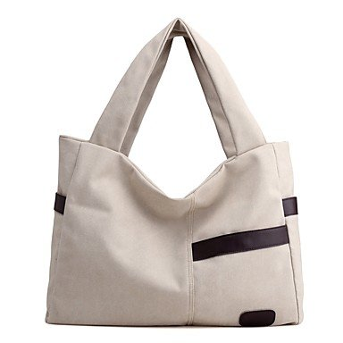 YJIUX Womens moda clásica bolsa Crossbody,beige Purple