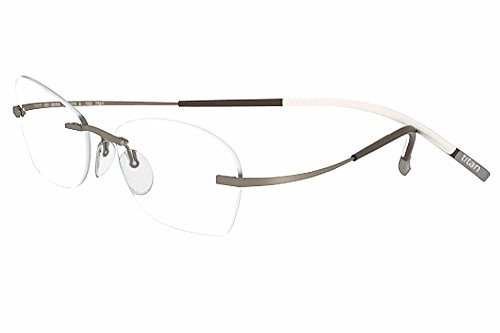 Silhouette Eyeglasses Titan Min Art Icon Chassis 7581 6051 Optical Frame 21x145