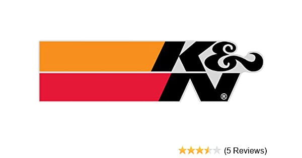 Amazon com kn 89 0020 05 kn corporate logo decal automotive