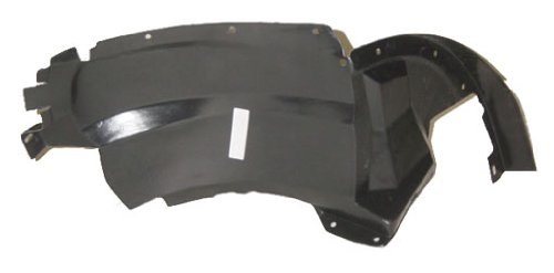 OE Replacement Chevrolet Cavalier Front Driver Side Fender Inner Panel (Partslink Number GM1248115) Unknown
