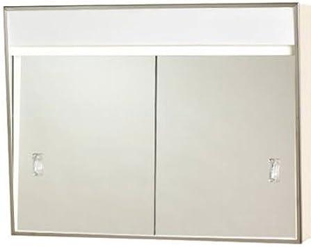 Amazon Com 701l Series Sliding Medicine Cabinet 2 Light With