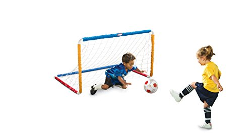 MGA Little Tikes Easy Score Soccer Set, Primary Colors Goal Net Set