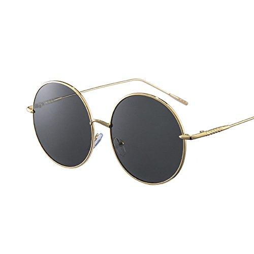 Noir LVZAIXI de rétro Cyber soleil Générique Steampunk Hippy lunettes Vintage rondes lunettes Couleur Noir Punk OtRqRwdU