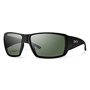 Smith Guides Choice ChromaPop Polarized Sunglasses, Matte Black, Gray Green Lens