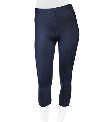 Women's Cycling Knickers Padded Spandex Capri - 2 Color Options (XX-Large, (Knicker Capris)