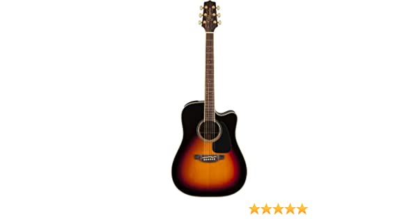 Takamine 6 String Acoustic-Electric Guitar Right Handed, Sunburst GD51CE-BSB
