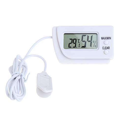 JohnnyBui - Mini Digital Indoor Thermometer Hygrometer LCD Screen Temperature Humidity Meter L15