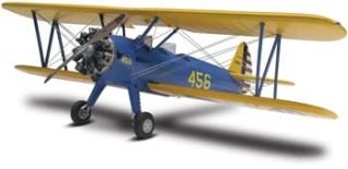 Revell Stearman PT-17 Plastic Model Kit First Airplane Kit