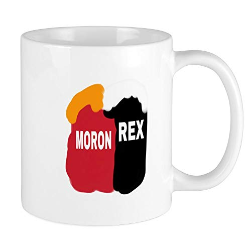 CafePress MORON AND REX TILLERSON Mugs Unique Coffee Mug, Coffee Cup