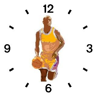 Basketball Player No.2 Basketball Theme - WATCHBUDDY DELUXE TWO-TONE THEME WATCH - Arabic Numbers - Blue Leather Strap-Women's Size-Small