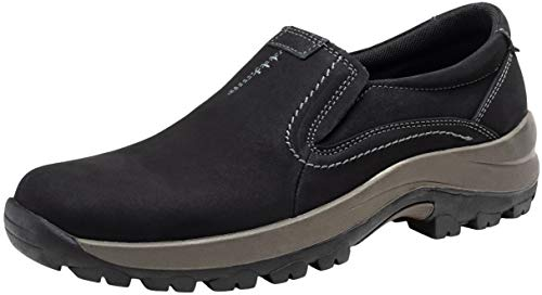 Pictures of JOUSEN Men's Slip On Loafers Jungle Black 10 M US 1