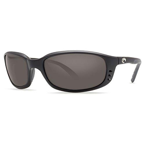 Costa Del Mar Brine Polarized Sunglasses, Black, Gray 580Plastic