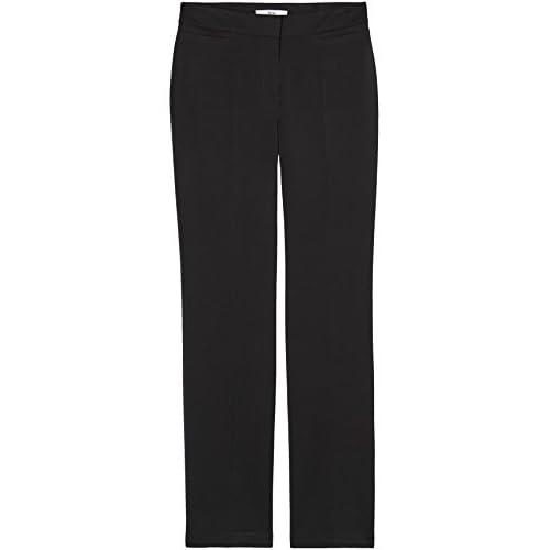 Find Marca Pantalones Rectos Anchos Para Mujer Mujer Pantalones