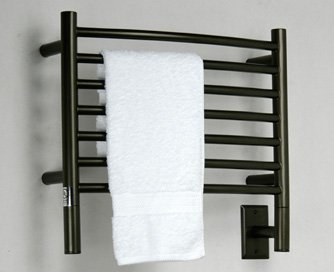 Amba HCO-20 20-1/2-Inch x 18-Inch Curved Towel Warmer, Oil Rubbed Bronze
