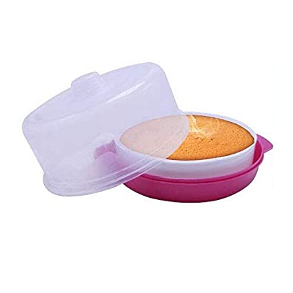 Buy Wonder Plastic Yummy Cake Maker Set For Microwave Pink Online At Low Prices In India Amazon In