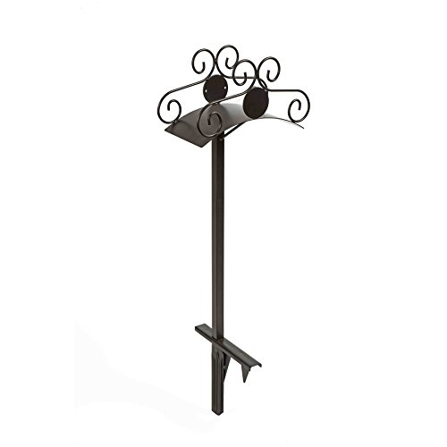 liberty-garden-products-645-ornamental-125-foot-capacity-two-point-steel-garden-hose-stand-black