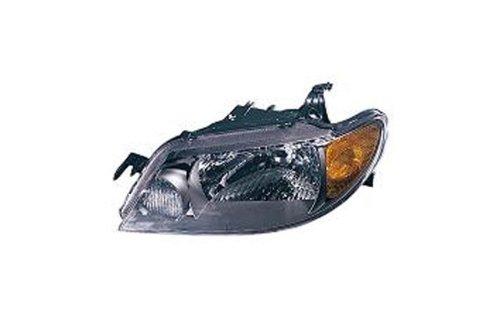 Protege Driver Side Headlight - Vaip MZ10081B1L Mazda Driver Side Replacement Headlight