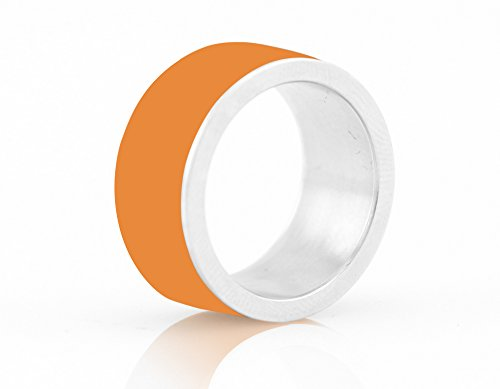 LYCOS Life NFC Smart Ring, Alpenglow Orange Size by LYCOS Life