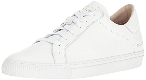 Skechers Vaso-cordon Vrouwen Lage Schoenen Tennisschoen Wit Wit