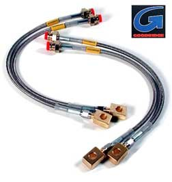 Sensational Amazon Com Goodridge Stainless Steel Brake Line Kit For 03 On Mazda Wiring Database Ilarigelartorg