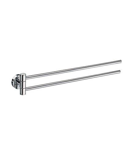 Smedbo SME HK326 Towel Rail Swing-Arm, Polished Chrome,