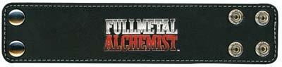 Fullmetal Alchemist: Fullmetal Alchemist Logo Wristband