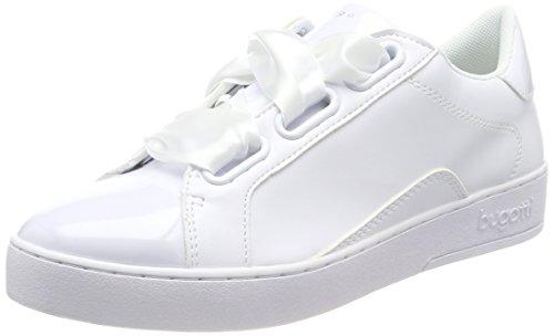 Bugatti Damen 422291035900 Sneaker Weiß (White 2000)
