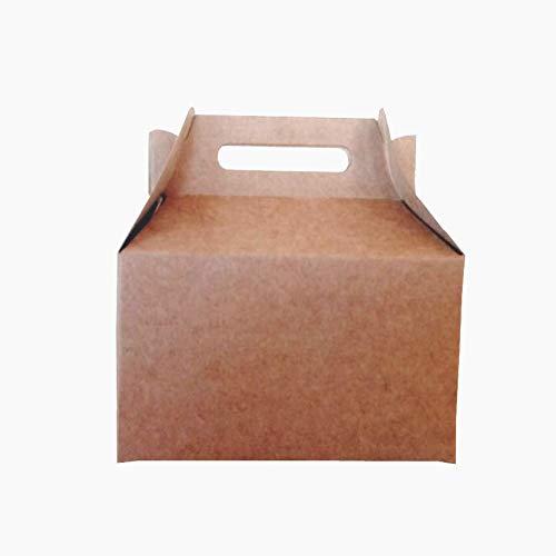 25 Cajas Picnic cartulina kraft para fiesta, cumpleaños, comunión, detalle.: Amazon.es: Industria, empresas y ciencia